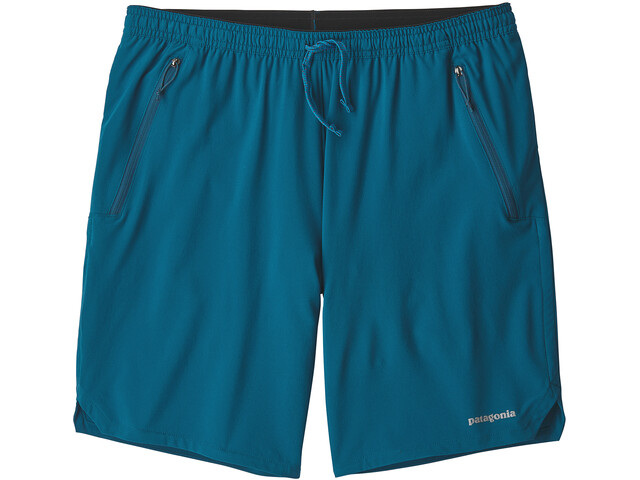 Patagonia Nine Trails Pantalones cortos Hombre, big sur blue